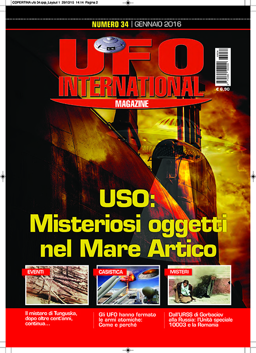 UFO International Magazine - gennaio 2016