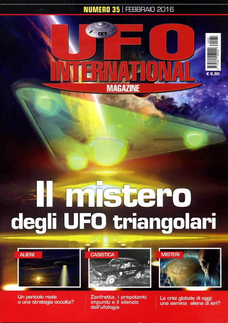 UFO International Magazine febbraio 2016