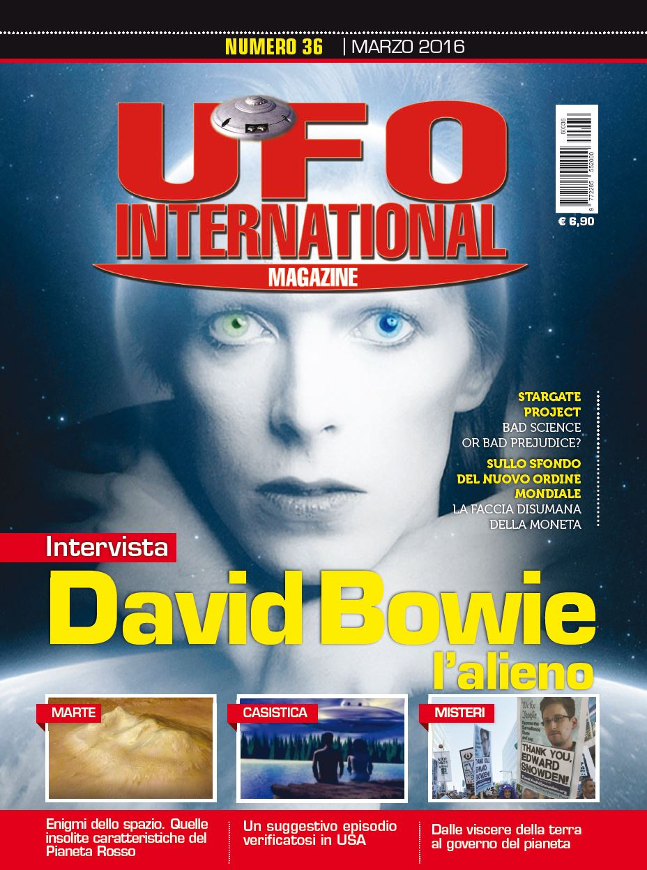 UFO Internatioal Magazine Marzo 2016