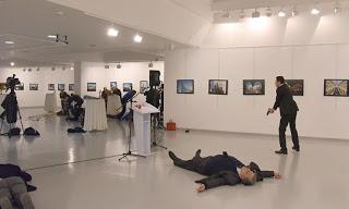 morto ambasciatore russo Ankara