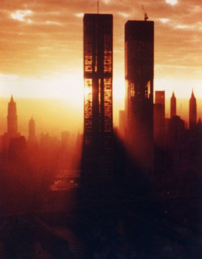 WTC in fase di costruzione