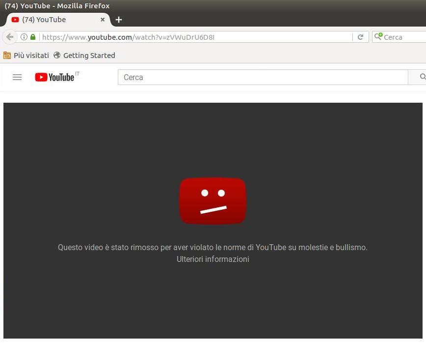 video censurato