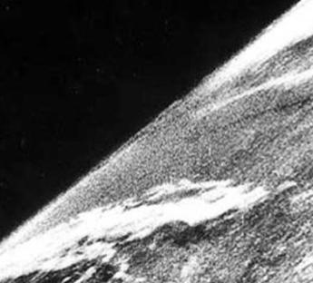 Prima foto dallo spazio
