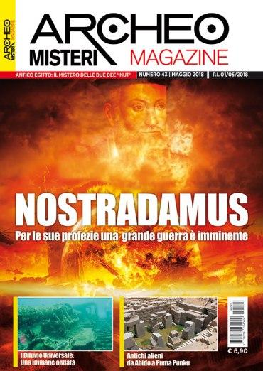 Archeomisteri Magazine numero 243 maggio 2018