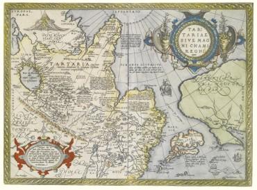cartina geografica Tartaria 1603